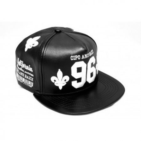 cipo baxx férfi sapka CA118 BLACK - Cipo Baxx Denim Brand - Kabátok ... 14aaf5a147