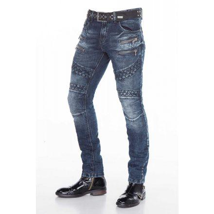Cipo & Baxx limited edition men's denim pants CD382