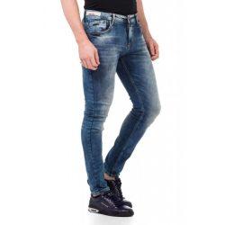 cipo&baxx divatos férfi Slim fit farmer CD430BLUE