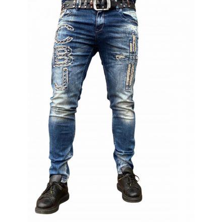 Cipo & Baxx koptatott divatos férfi farmer CD431