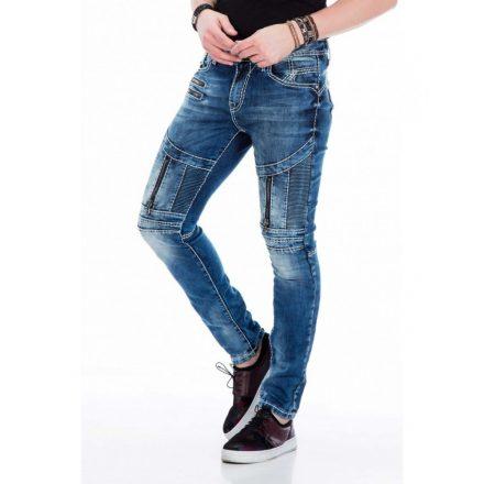 Cipo & Baxx premium quality Slim fit denim pants CD437BLUE