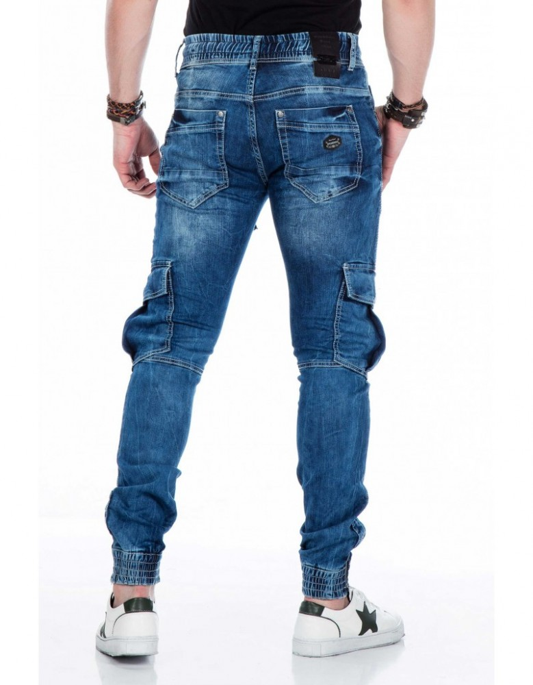 Cipo & Baxx prémium minőségű divatos slim fit farmer CD446