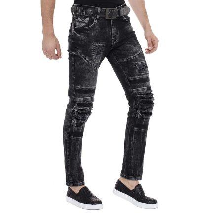 Cipo & Baxx divatos férfi farmernadrág  CD486A Black