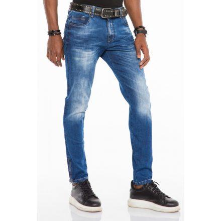 Cipo & Baxx divatos férfi Slim fit farmer CD502 Blue