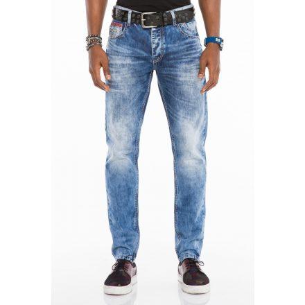 Cipo & Baxx fashionable men's Slim fit denim pants CD520BLUE