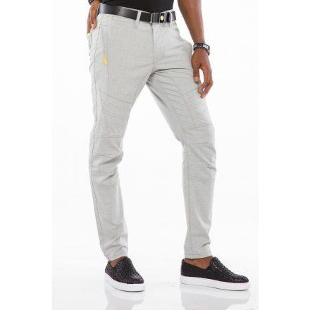 Cipo & Baxx fashionable men's Slim fit denim pants CD527GREY
