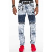 Cipo & Baxx divatos férfi farmernadrág CD529BLUE