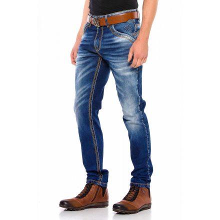 Cipo&Baxx divatos férfi farmernadrág CD530BLUE