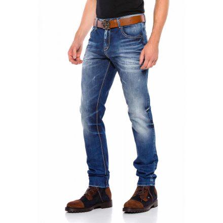 Cipo&Baxx divatos férfi farmernadrág CD544 Blue