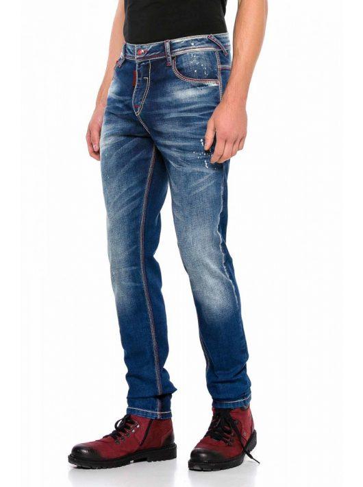 Cipo & Baxx divatos férfi farmernadrág CD557BLUE Cipo