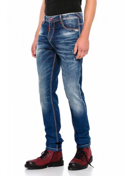 Cipo & Baxx divatos férfi farmernadrág CD557BLUE