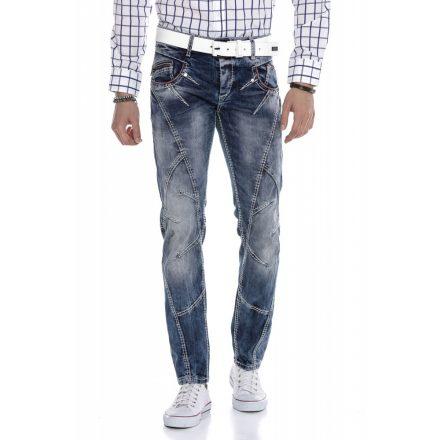 Cipo & Baxx divatos férfi farmernadrág CD563 Blue