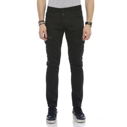 Cipo&Baxx divatos férfi farmernadrág CD566 Black