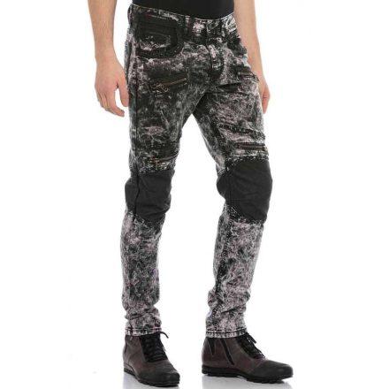 Cipo & Baxx divatos férfi farmer CD568 Black