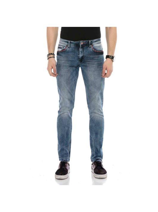 Cipo & Baxx divatos férfi farmernadrág CD569BLUE