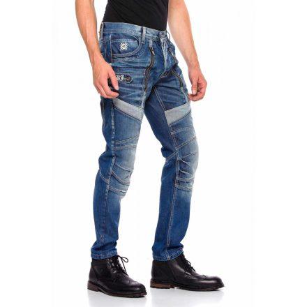 Cipo & Baxx divatos férfi farmernadrág CD576 Blue
