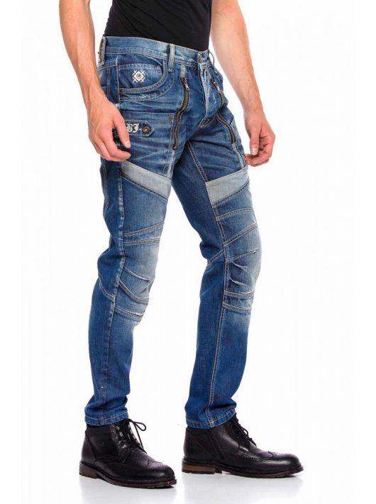 Cipo & Baxx divatos férfi farmernadrág CD576BLUE Cipo