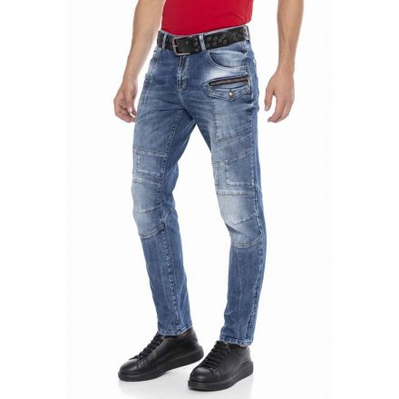 Cipo&Baxx divatos férfi farmernadrág CD577 Blue