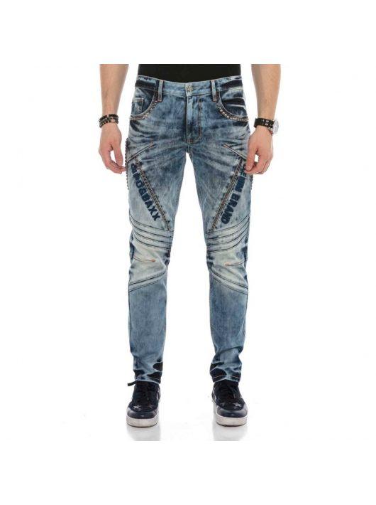 Cipo&Baxx divatos férfi farmernadrág CD590BLUE