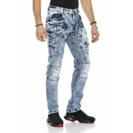 Cipo&Baxx divatos férfi farmernadrág CD598 Blue