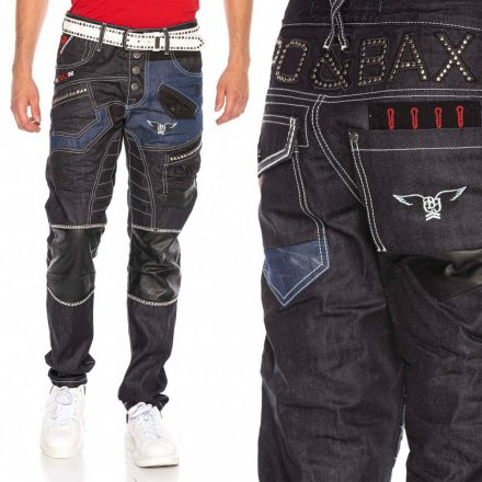 Cipo & Baxx divatos férfi farmernadrág CD639 RAWBLUE
