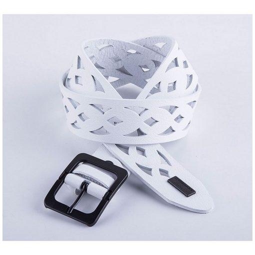 Cipo & Baxx men's white belt CG103 WHITE