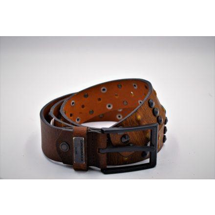 Cipo & Baxx tobacco men's belt CG122 TABA