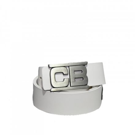 Cipo & Baxx férfi bőr öv CG135 White