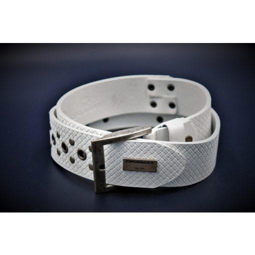Cipo & Baxx belt CG138 WHITE