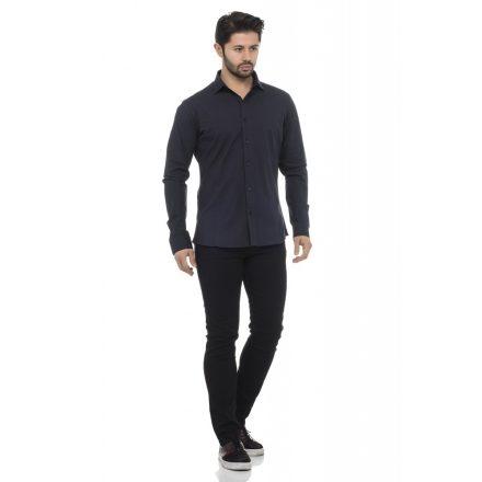 Cipo & Baxx fashionable navyblue shirt CH140 NAVY BLUE