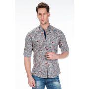 Cipo & Baxx fashionable men's shirt CH146 GREY