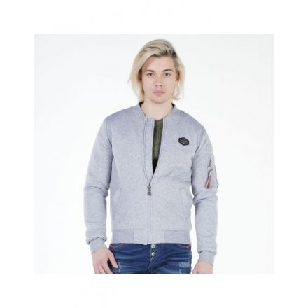 Cipo & Baxx gray men's jacket CJ151