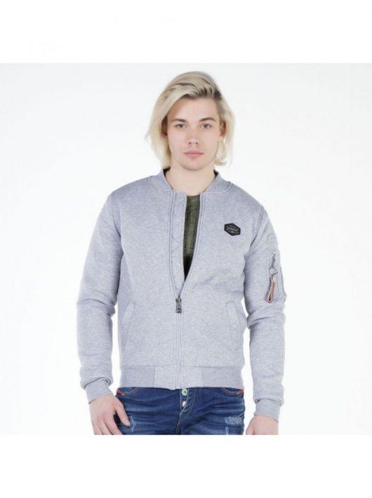 Cipo & Baxx szürke férfi kabát CJ151