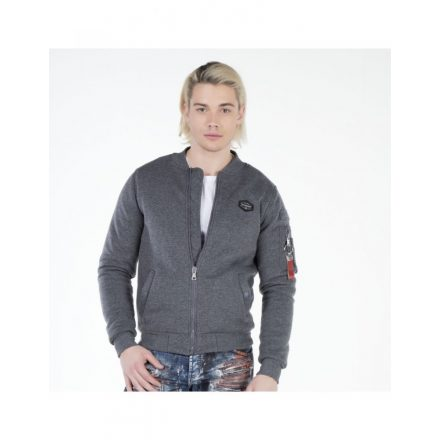 Cipo & Baxx férfi kabát CJ151 ANTHRACITE