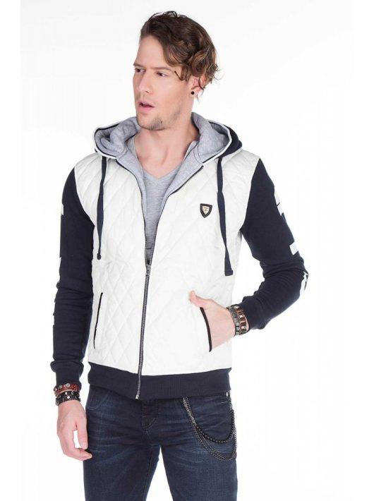 Cipo & Baxx divatos kabát CJ180ecru