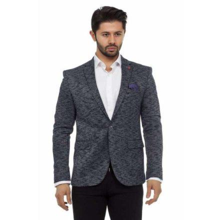 Cipo & Baxx divatos férfi zakó CJ204NAVY-MELANGE