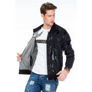 Cipo & Baxx men's wind jacket CJ208_BLACK
