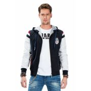 Cipo & Baxx men's wind jacket CJ214_NAVY_BLUE