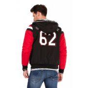 Cipo & Baxx divatos férfi kabát CJ230BLACK