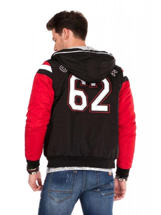 Cipo & Baxx divatos férfi kabát
