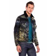 Cipo & Baxx divatos férfi farmerkabát CJ245BLACK