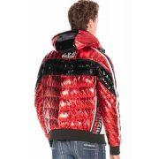 Cipo & Baxx divatos férfi kabát CJ261RED
