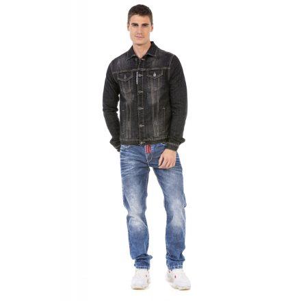 Cipo&baxx átmeneti férfi farmer dzseki CJ266 Black