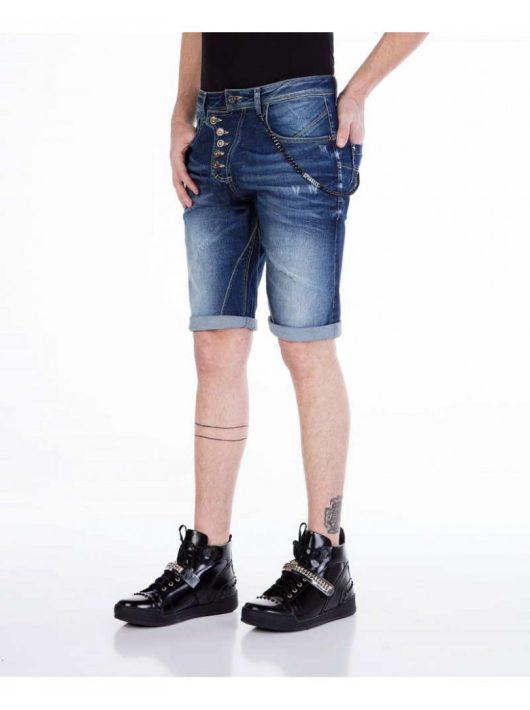 Cipo & Baxx divatos rövidnadrág CK120 DARKBLUE