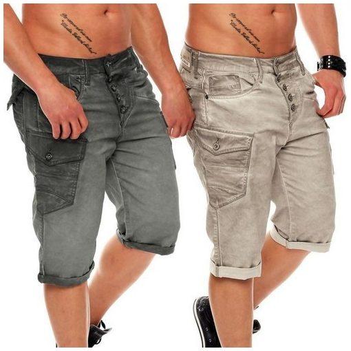 Cipo & Baxx fashionable shorts CK140 ANTHRACITE