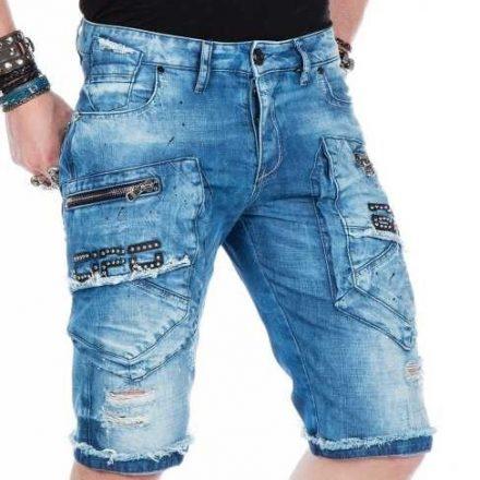 Cipo & Baxx fashionable shorts ck169blue