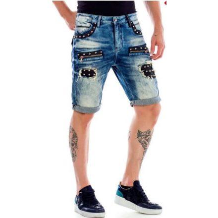 Cipo & Baxx divatos rövidnadrág CK181BLUE