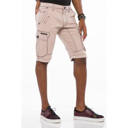 Cipo & Baxx divatos rövidnadrág CK188GREY