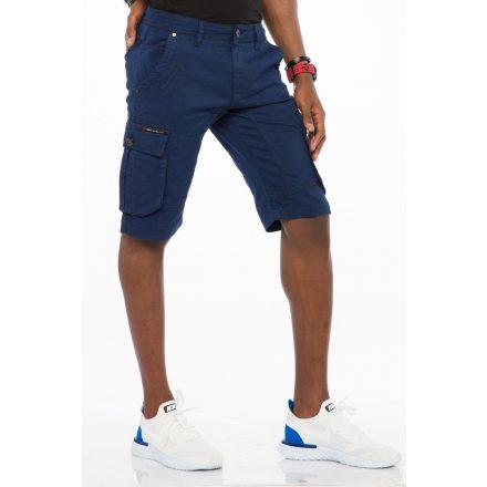 Cipo & Baxx fashionable shorts ck188navyblue