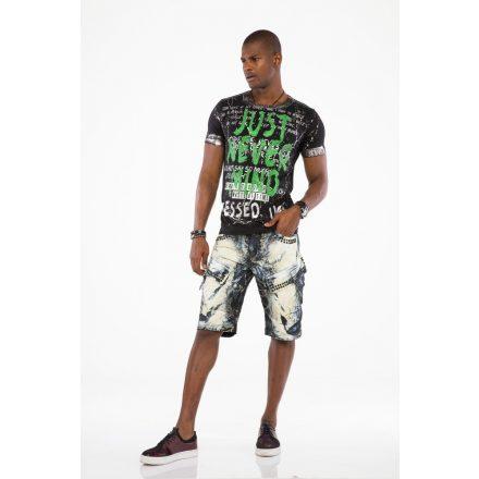 Cipo & Baxx fashionable shorts ck193sunburst